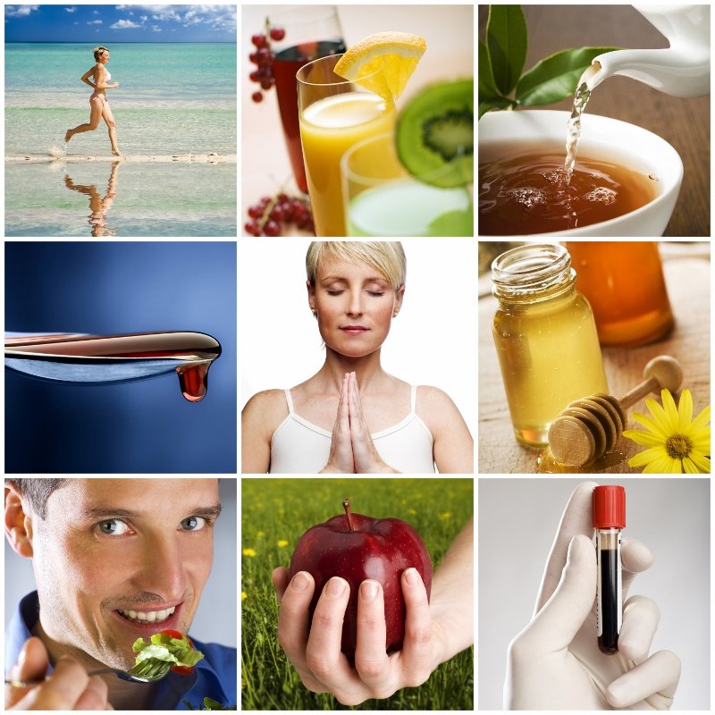wellness services including diet, herbs, exercise, lab tests, chiropractic massage therapy