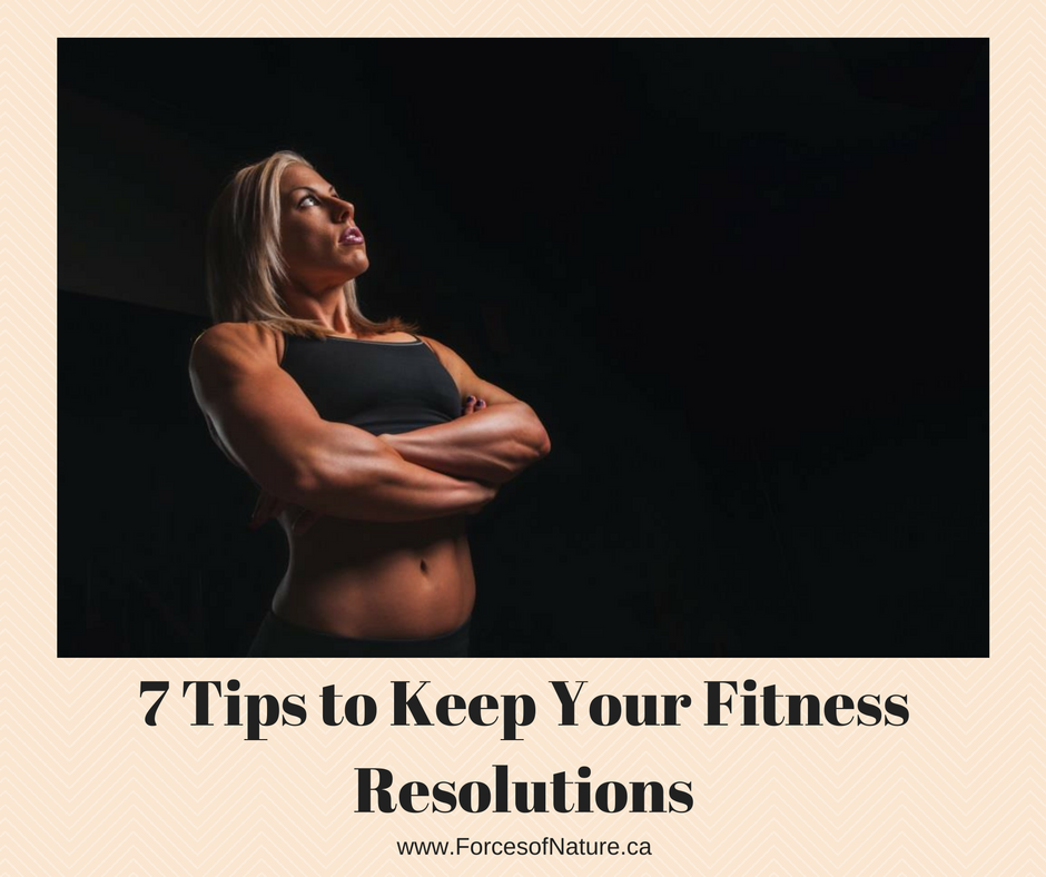 woman thinking about fitness resolutions