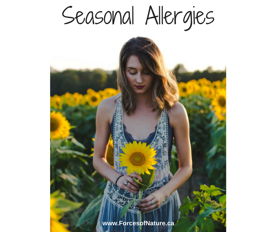 woman with successful treatment for seasonal allergies