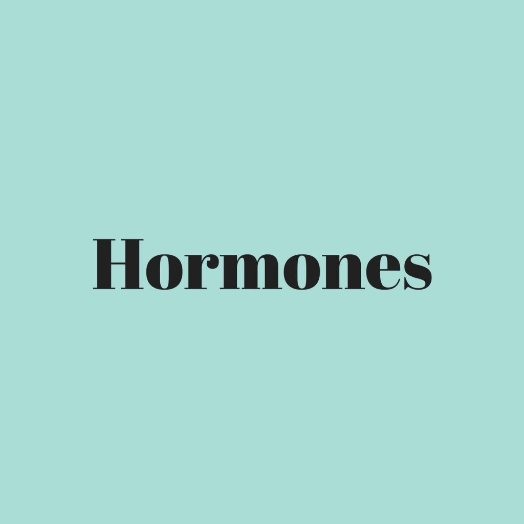 picture of the word hormones