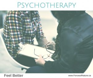 female providing psychotherapy