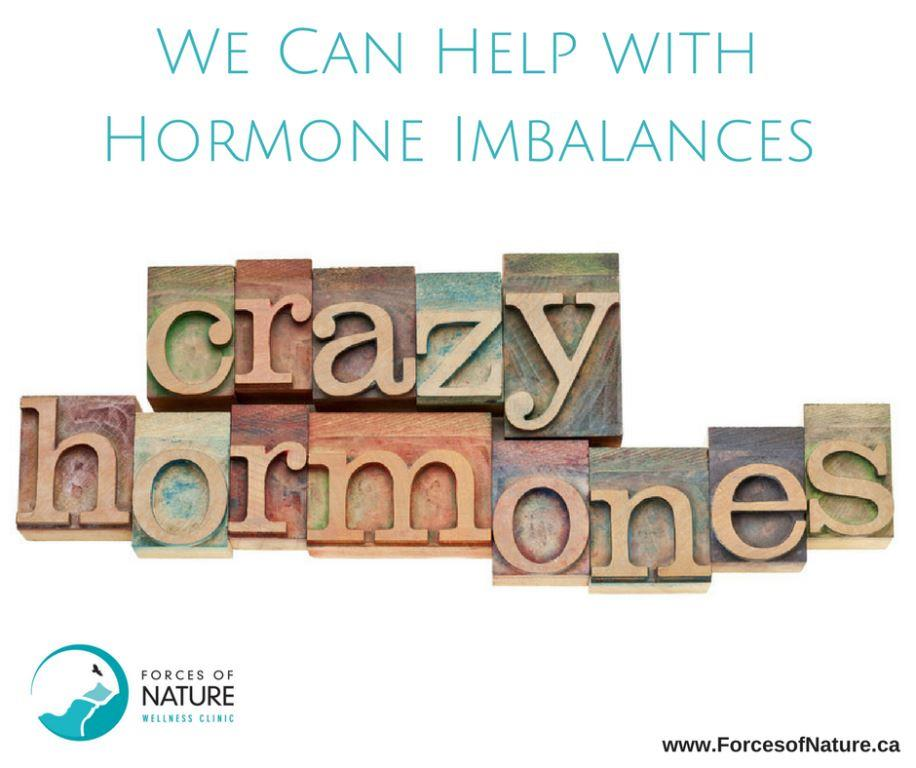 picture of the words crazy hormones
