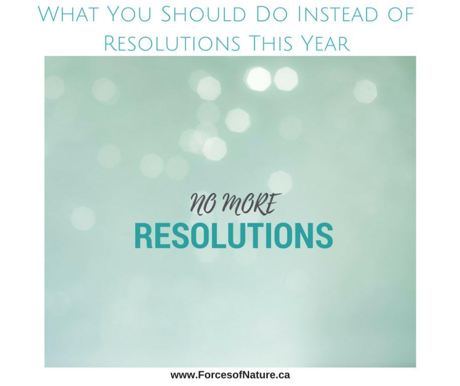 picture saying no more resolutions