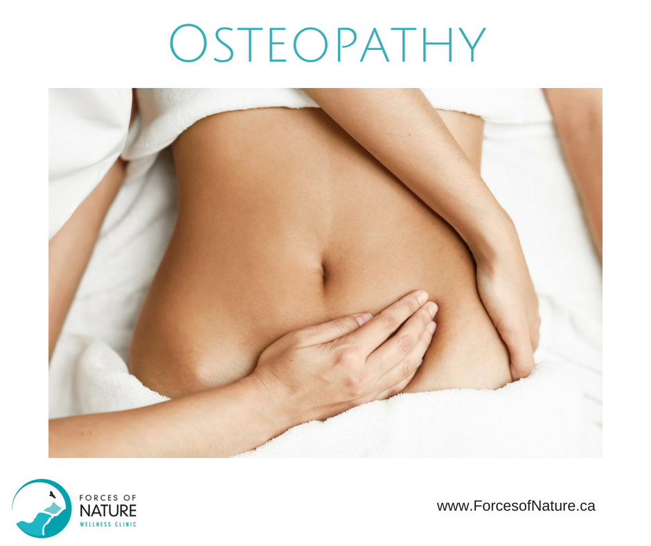 picture of an osteopathic manipulative practitioner performing osteopathy