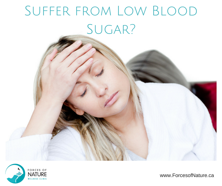woman suffering from low blood sugar