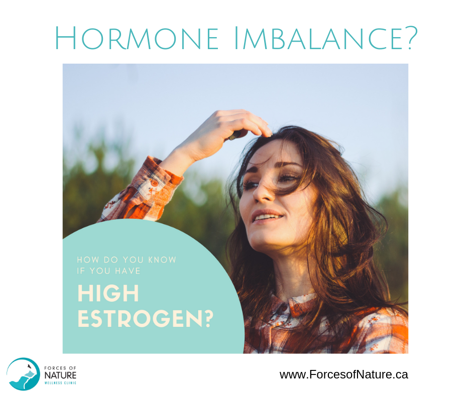 woman with a hormone imbalance