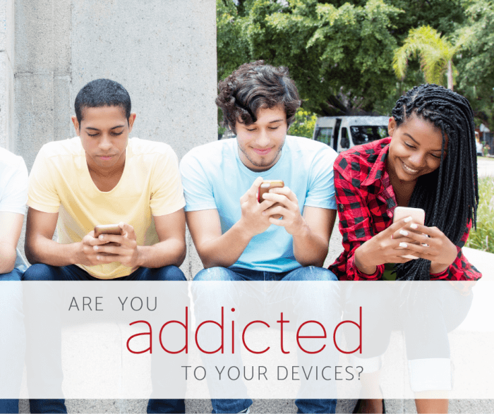 teens with social media addiction