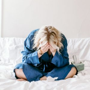 woman who needs natural treatment for anxiety