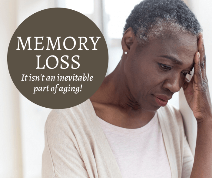 picture of a woman who is worried about memory loss